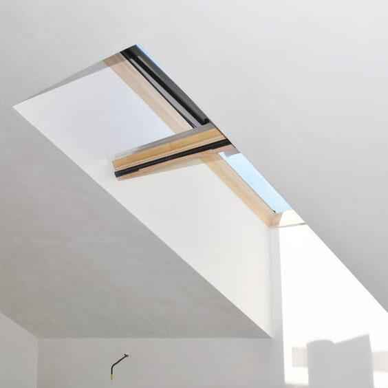 Skylight in house